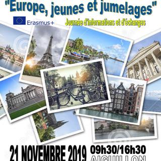 """""""Europe, Jeunes et Jumelages"""""""
