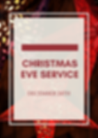Christmas Eve Service 2019 No save the d