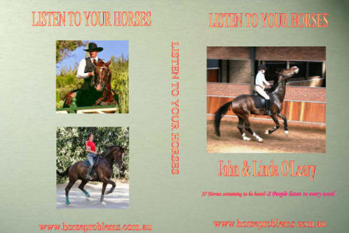 DVD - LISTEN TO YOUR HORSES