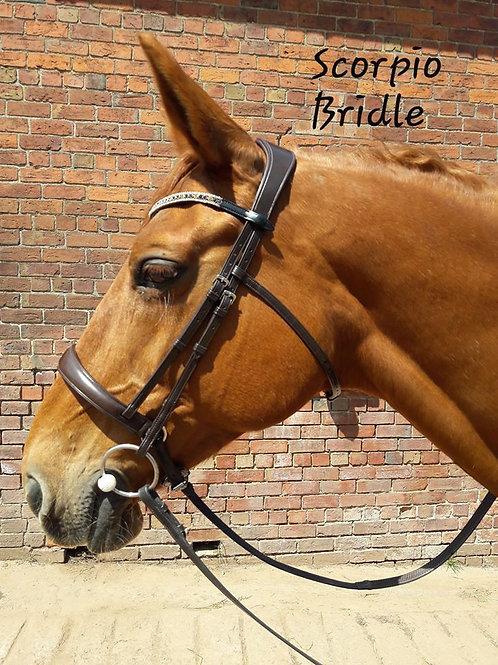 HS Anatomical Bridle - Scorpio Bridle Range