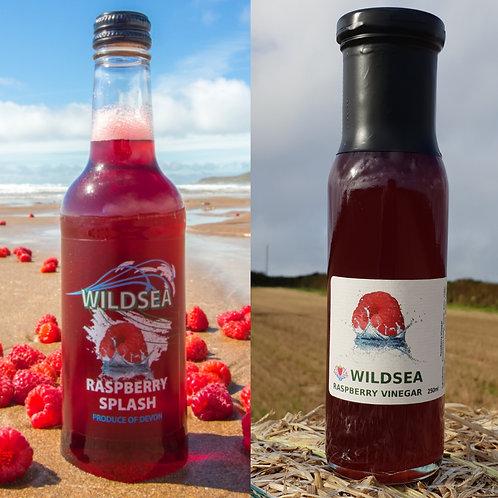 Raspberry Splash & Vinegar Combo