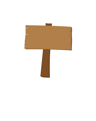 Ikon på en brun teckan skylt