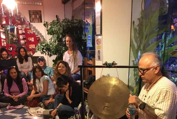 Herbert Shaman's Sound Ceremony at Aquas