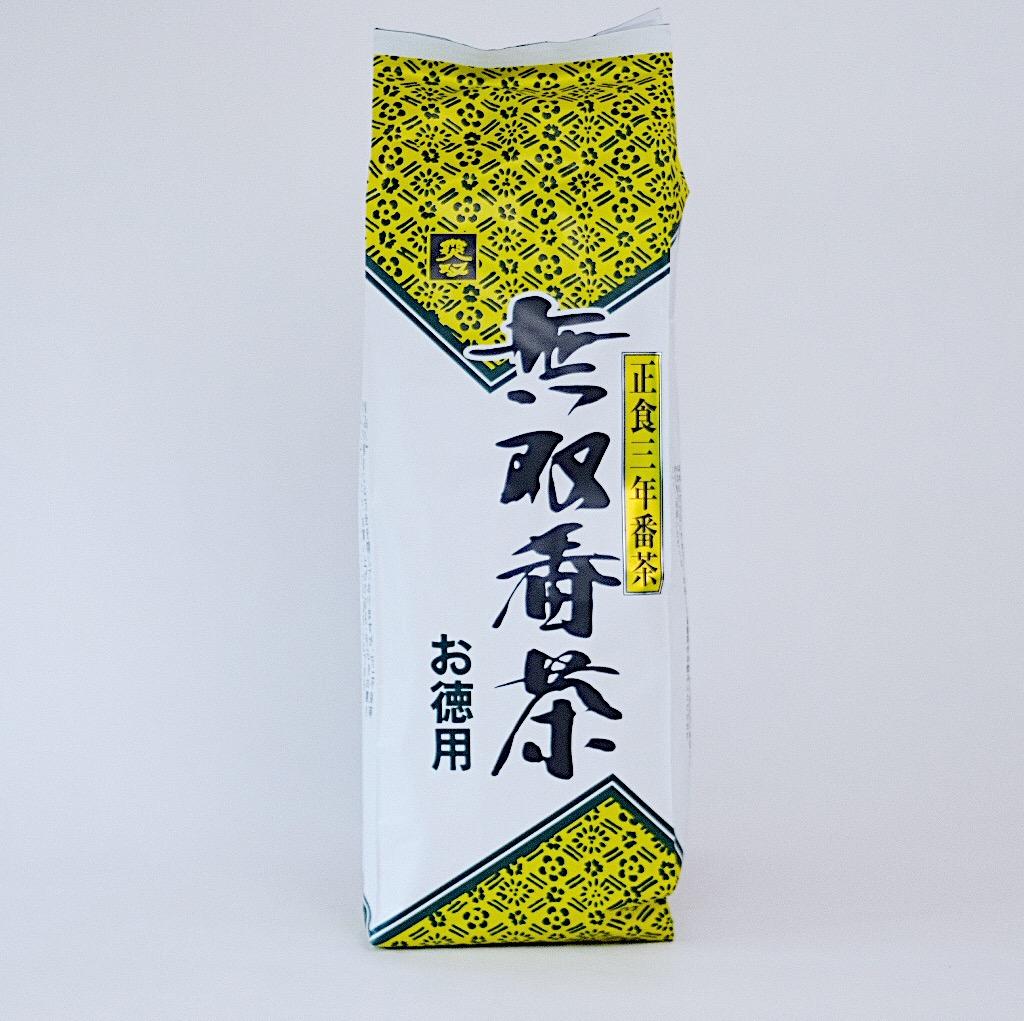無双番茶・徳用 900円(税別)