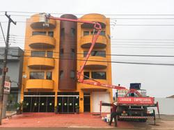 Higienização fachada