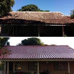 Limpeza telhado