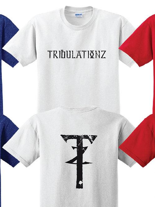 Tribulationz Soft Style T Shirt (White)