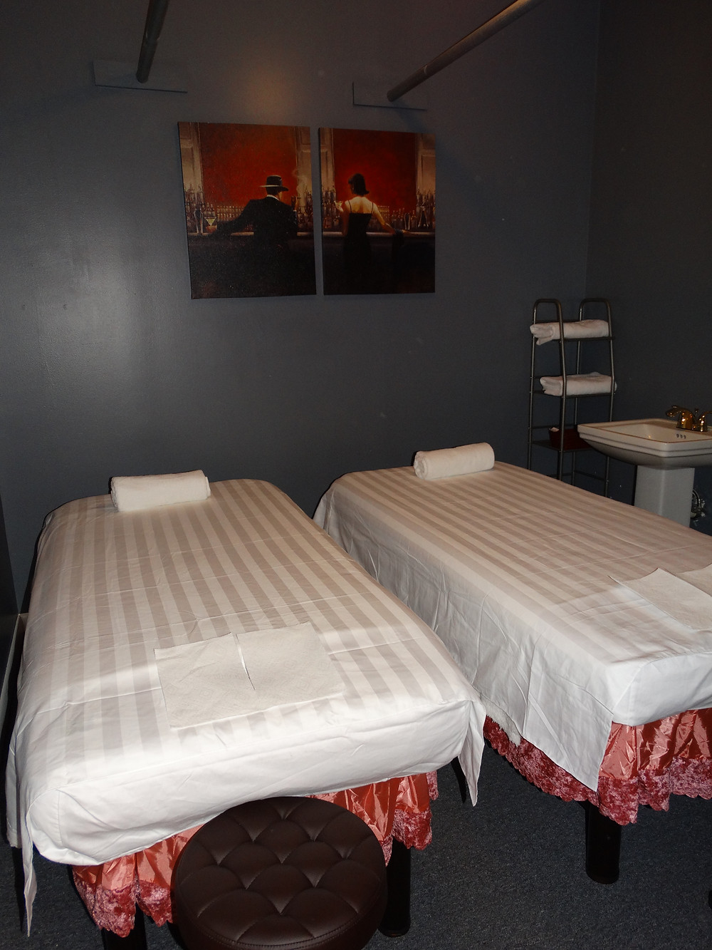 Your Massage Spa Couple Massage Room!