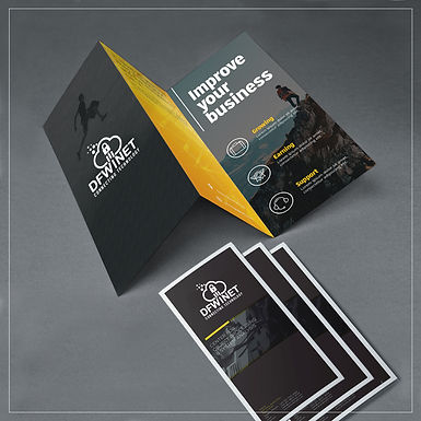 Brochures /Free Folding Included