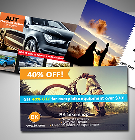 Printing i graphic design business cards flyers and more postcards flyers reheart Images