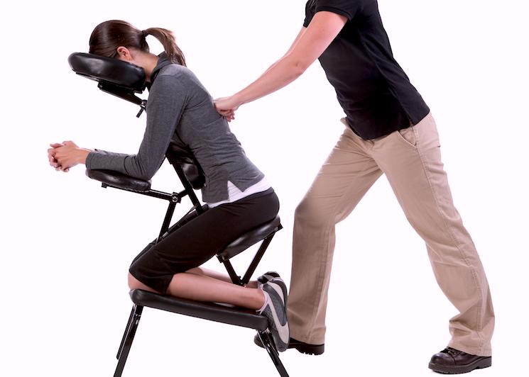 1 Hour Chair Massage $60