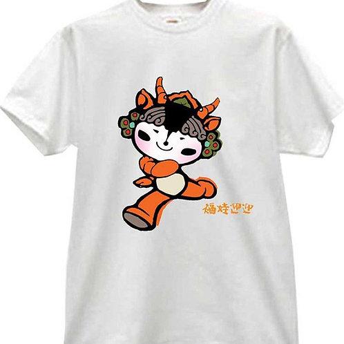 Heat Press T Shirt Printing 100% Cotton S-XL