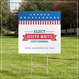 24x24 Yard Signs (FULL COLOR)