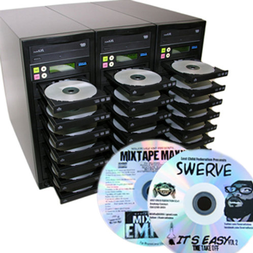 CD Duplication & Thermal Black Print