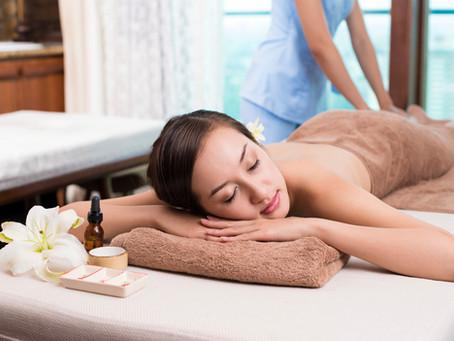 Getting a Full Body Massage!