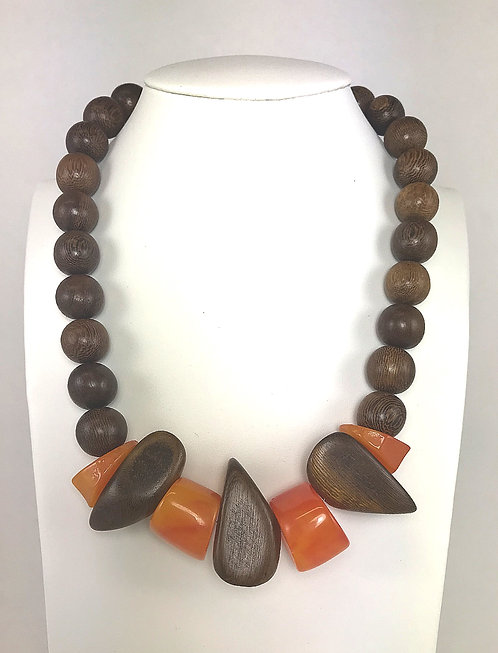 Wedge Wood Necklace