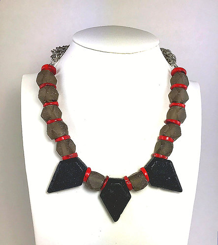Lava Flame Necklace