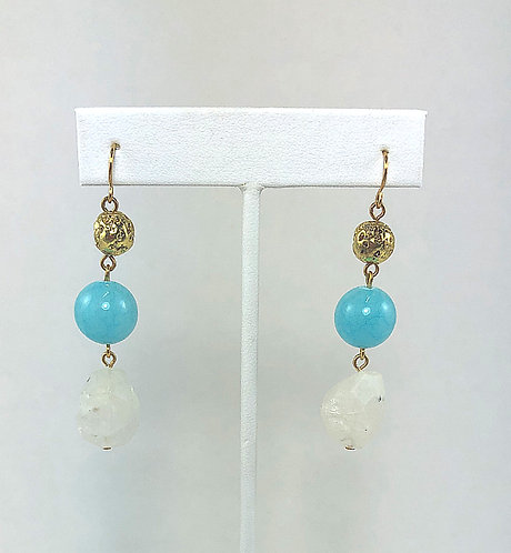 Jade Ball Earrings