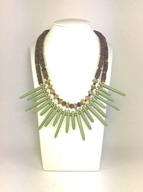 Double Row Safari Necklace