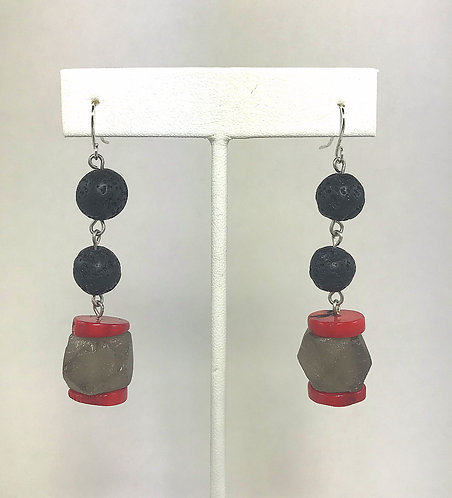 Lava Flame Earrings