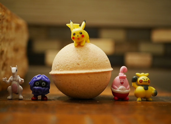 Kid's Surprise Bath Bomb-Despicable Me 3Figure / Shopkins  / Pokeman)
