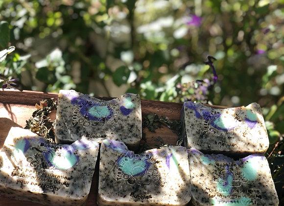 Creamy Exfoliating 100% Coconut  Peppermint/Lavender