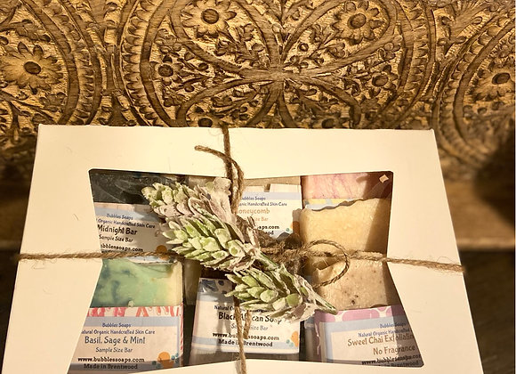 Gift Set of Natural Artisan Soaps