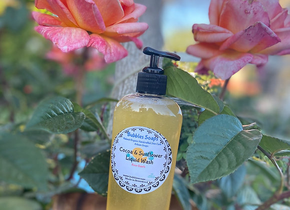 Cocoa & Sunflower Body Wash / Liquid Soap Vegan