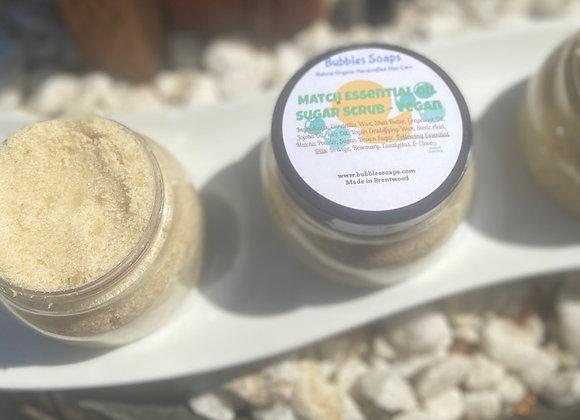 Match Essential Oil Sugar Scrub-Vegan
