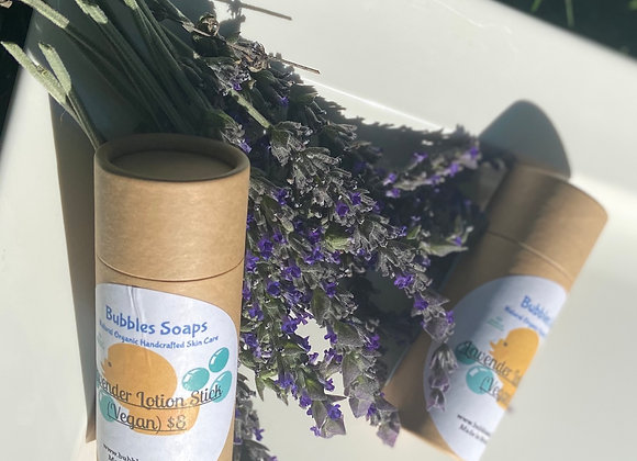 Lavender Body Butter Lotion Stick