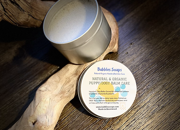 NATURAL & ORGANIC PUPPY/DOGY BALM CARE