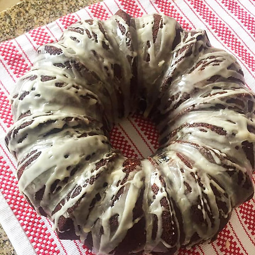 Apple Glazed Bundt Cake