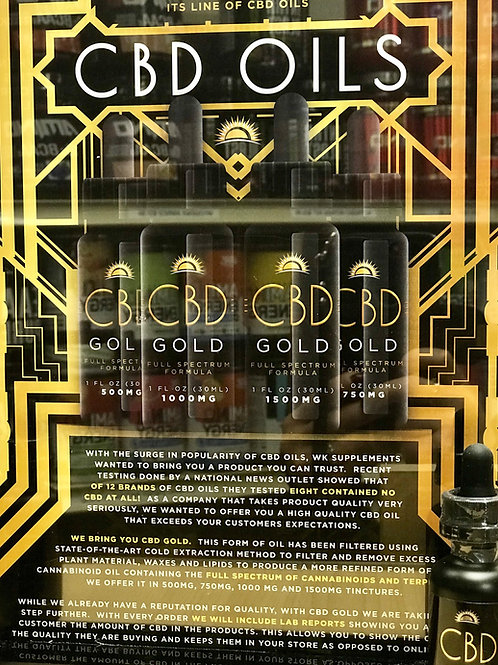 CBD Gold Oil 500 MG
