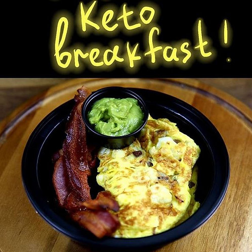 Phinix Grill (fresh cooked) - Keto Breakfast (Cal 643/ F 48g / C<15 P 31g)