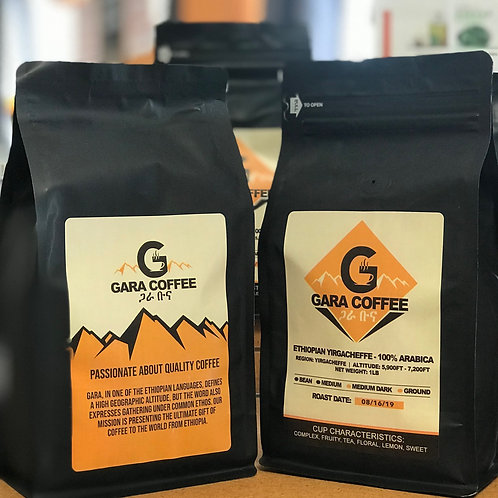 Gara Coffee (Net Weight: 1lb)