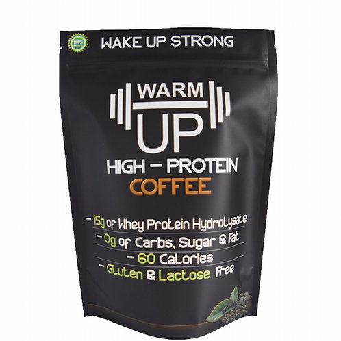 WarmUp® High Protein Coffee Powder (1lb - 18 servings)