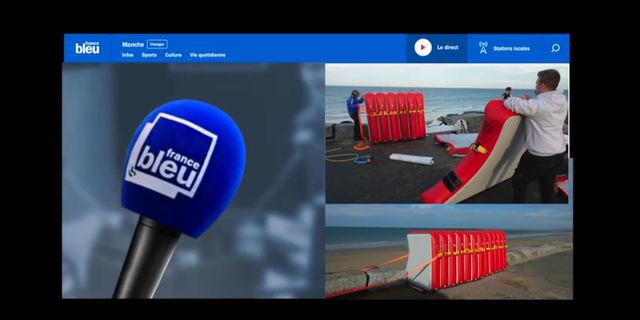 The Dam Technology invité en direct de la matinale de France Bleu Cotentin