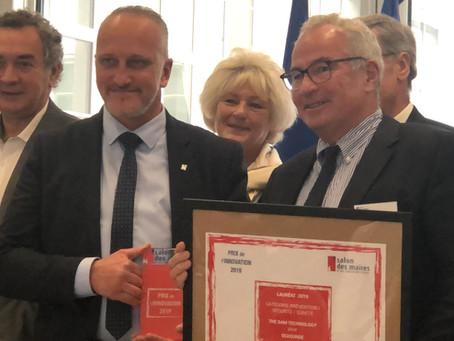 The Dam remporte le Trophée de l'Innovation 2019 du Salon des Maires et des Collectivités Locales