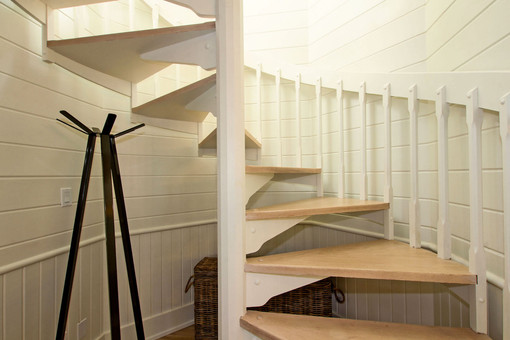 Timber Spiral Staircase