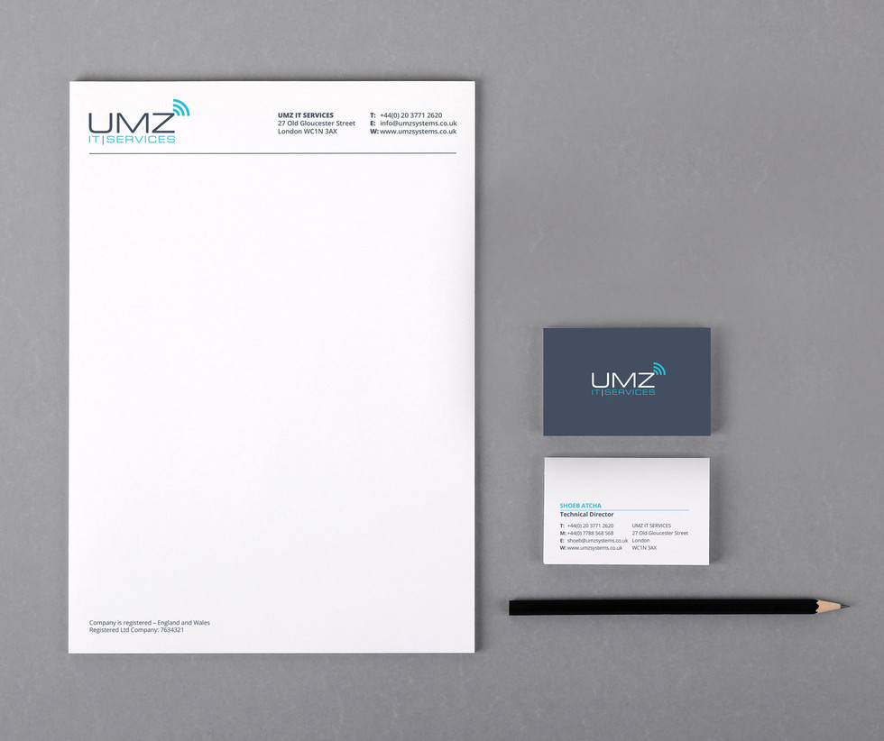 UMZ stationery