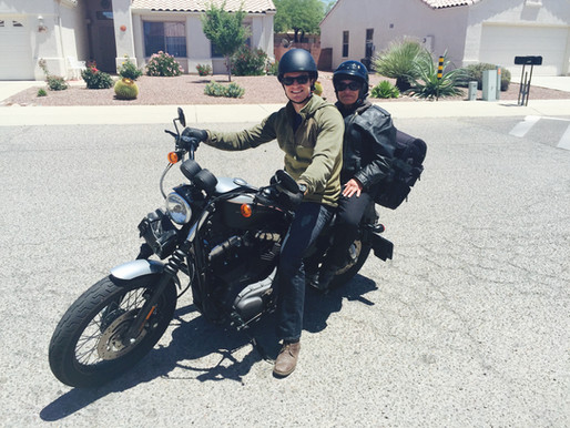 Riding in the Tucson Mountains