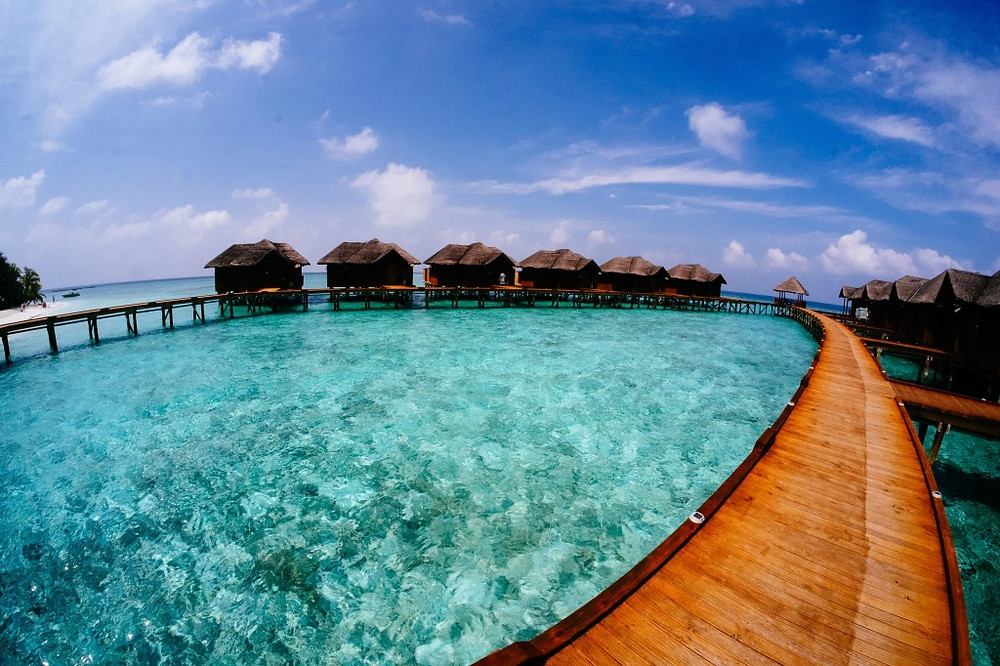 maldives, bungalow
