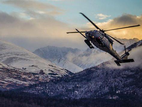 First HH-60 Pave Hawk Flight