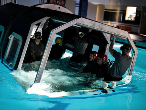 Underwater Helicopter Egress