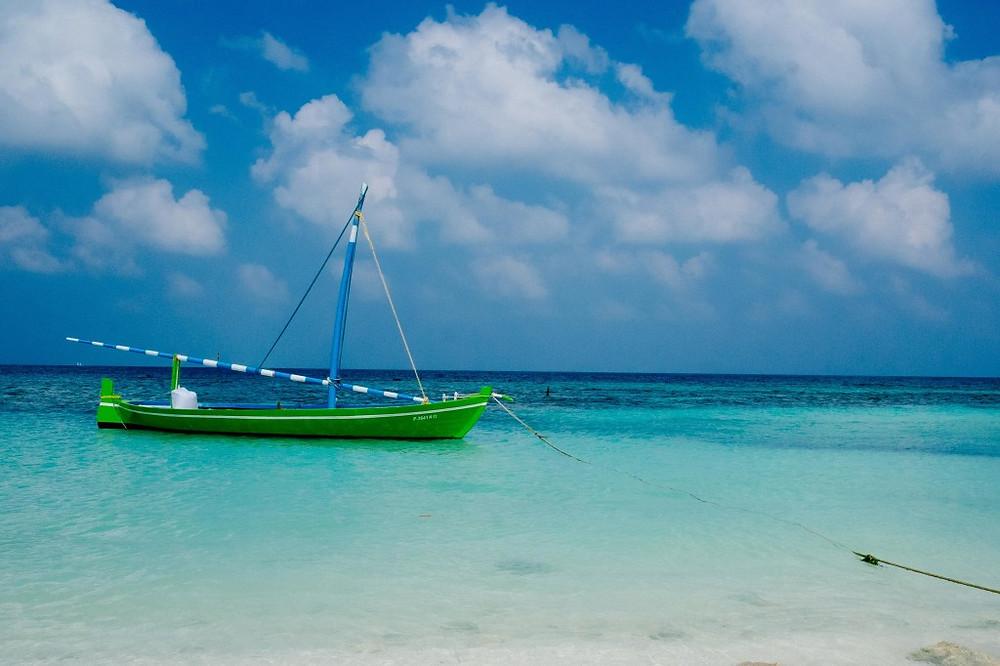 maldives, sailboat