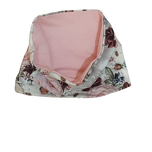Pink Floral Snood