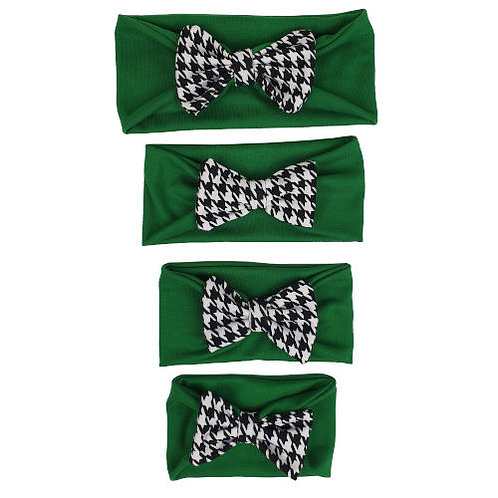 Green Cotton Headband