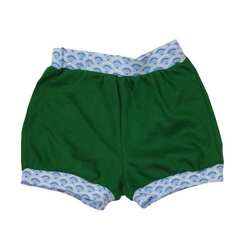 Green Shells Shorts