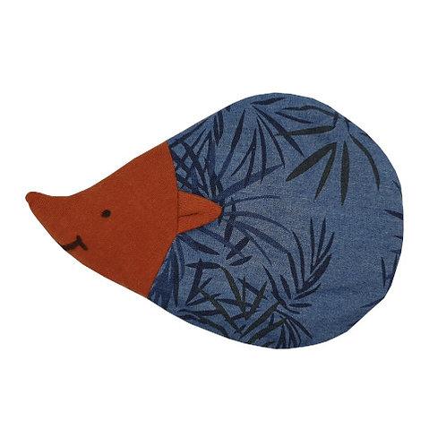 Hedgehog Cherry Pit Pillow