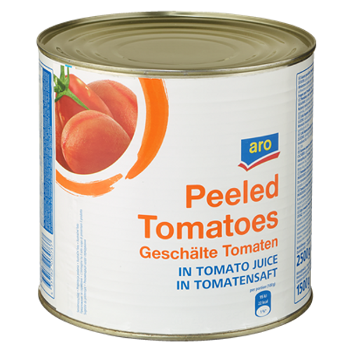 Aro Geschälte Tomaten  (800g)